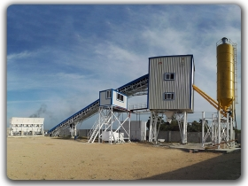 150m3/h Ready Mixed Batching Plant