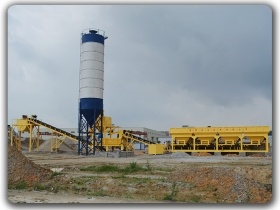500t/h Stabilized Soil batching plant